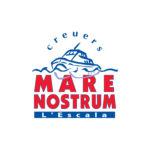 Logo - Creuers Mare Nostrum - Actividades Nauticas - Lescala - Empordaturisme