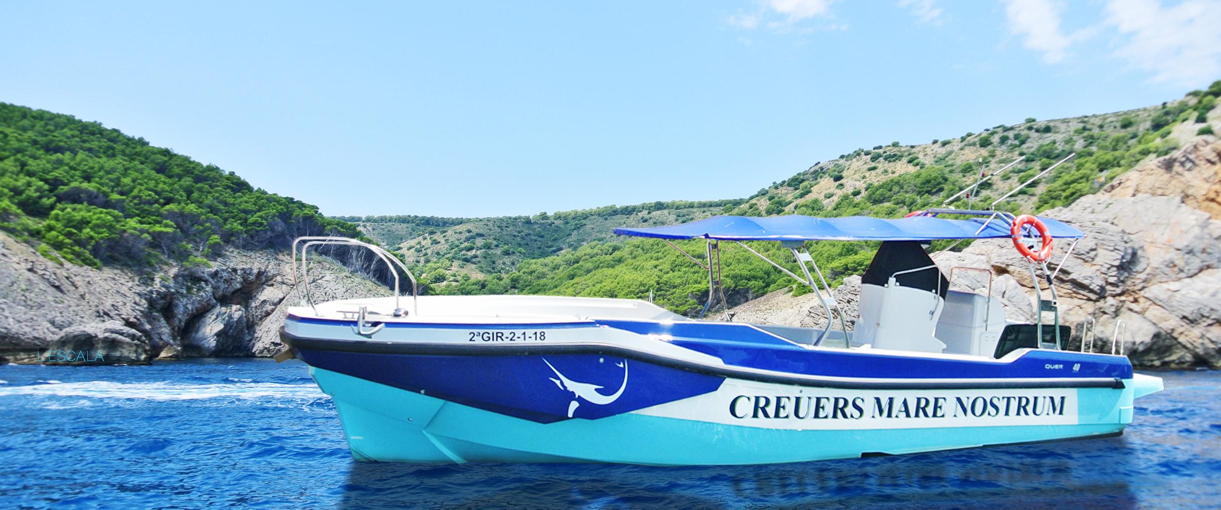Stella Maris - Creuers Mare Nostrum - Actividades Nauticas - Lescala - Empordaturisme